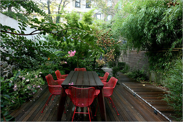 Brownstone Modern Garden | The Modern Home