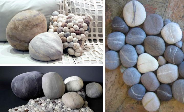 felt rocks