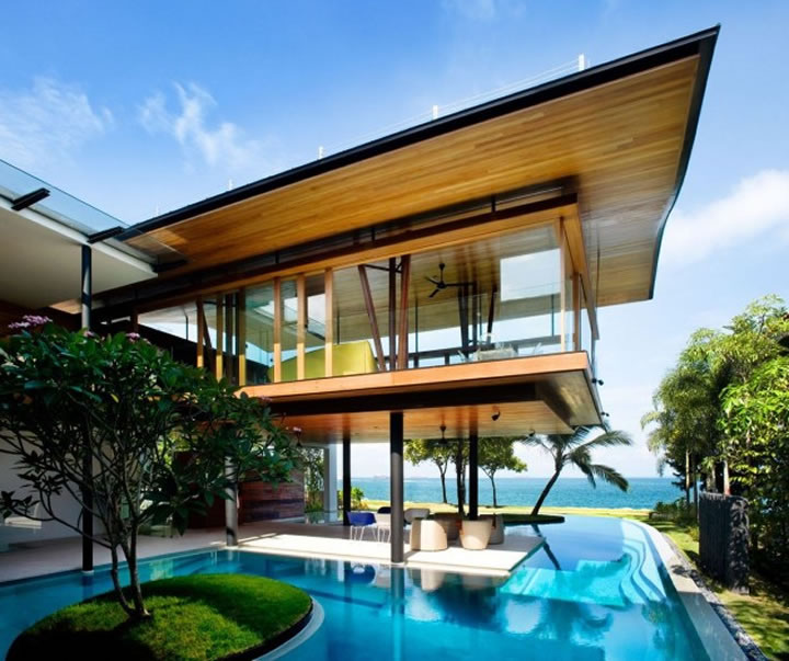 Modern Houses With Pool July 7 2010 Comments Off On Dream Pool Read Modern Home Design