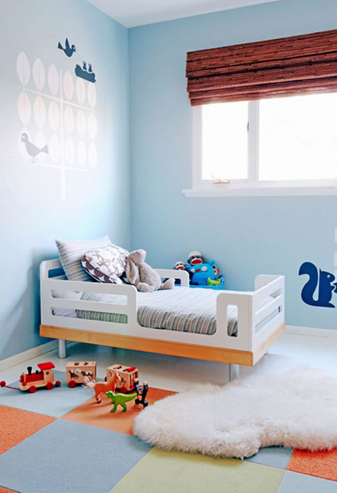Modern kids rooms the modern home for Contemporary kids room