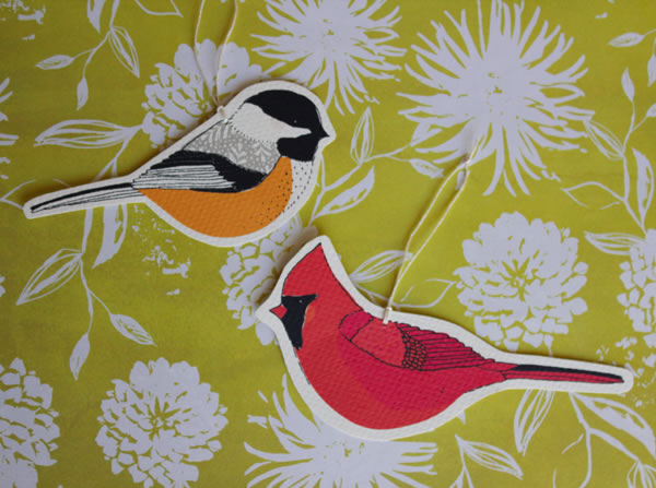 free bird ornament download