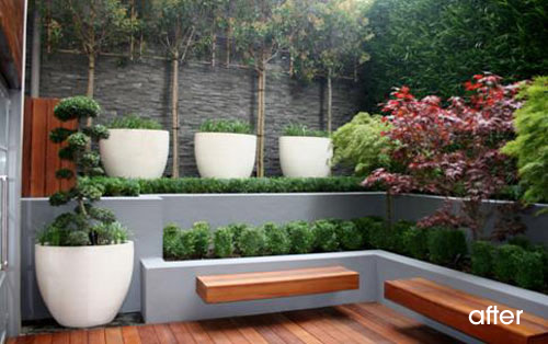 Modern garden home design and decor reviews for Modern backyard landscaping