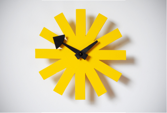 DIY Asterisk Clock – The Modern Home