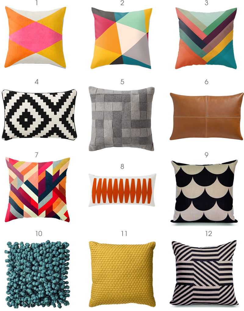 The Modern Pillow : Pillow Talk The Modern Home