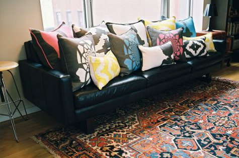 Decorating With Pillows pillow talk or how to decorate with pillows | small house plans modern