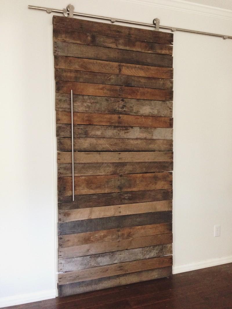 Pallet Wood Door